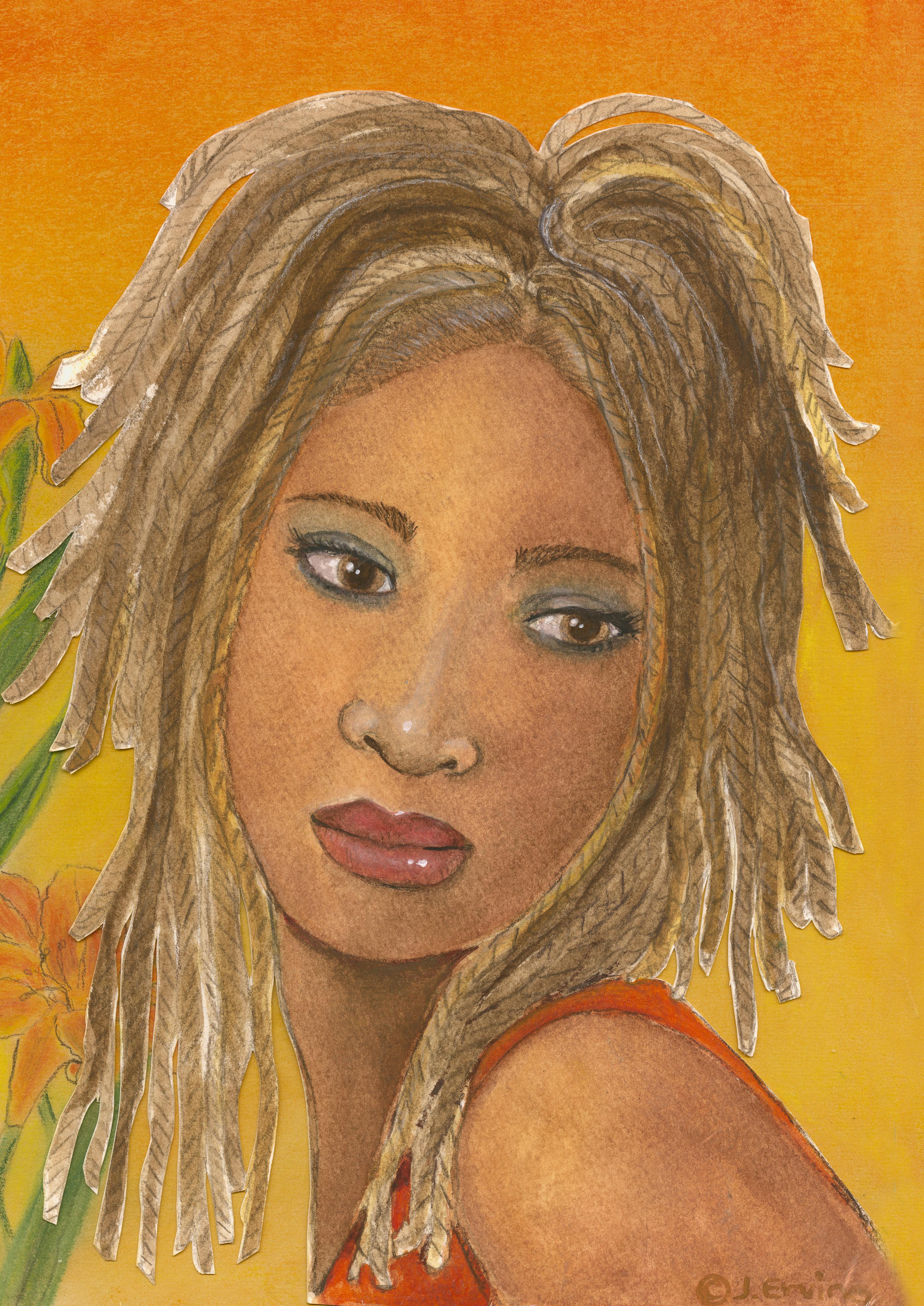 lady orange001